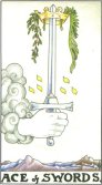 Ace of Swords - Minor Arcana Tarot Card