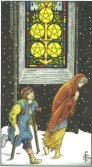 Five of Pentacles - Minor Arcana Tarot Card