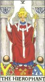 The Hierophant - Major Arcana Tarot Card